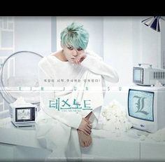 JYJ's Junsu to play 'L' in the 'Death Note' musical | http://www.allkpop.com/article/2015/04/jyjs-junsu-to-play-l-in-the-death-note-musical