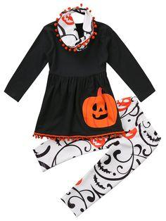 0040b5bdc Halloween Tassel Set. Toddler Girl HalloweenHalloween BallCool Halloween  CostumesHalloween OutfitsHalloween PumpkinsLittle ...