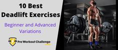 We will be introducing the 10 best deadlift exercises for strength building and muscle mass. These variations are all you need to know for any deadlifting workout routine. Muscle Building Supplements, Group Fitness, Muscle Mass, Workout Challenge, Build Muscle, At Home Workouts, Strength, Challenges, Exercises
