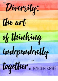 Love this diversity poster! Great for any age group, any setting. Loving the rainbow theme! Diversity Poster, Equality And Diversity, Quotes On Diversity, Diversity Activities, Classroom Posters, Classroom Themes, Education Posters, Teacher Posters, Education Logo