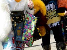 Beckerman Sisters before Jeremy Scott Runway during NYFW FW2015 | © Clara Ungaretti