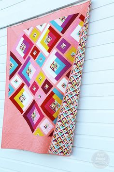 Possibilities with quilt backing by Amy Friend