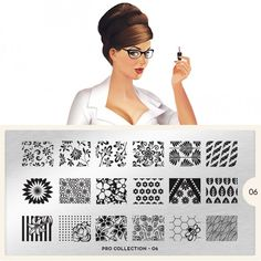 moyou Nail Art design Image Plates-kitty collection