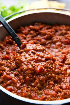 A delicious slow cooker chili with bacon, plenty of spice, and lots of flavor! Recipe video above the printable recipe. Because bacon makes everything better. Right?! Yesssss. Especially chili — it's delicious with bacon!! Not in the way that you can taste bacon in it necessarily,but in the way that the bacon really enhances all...