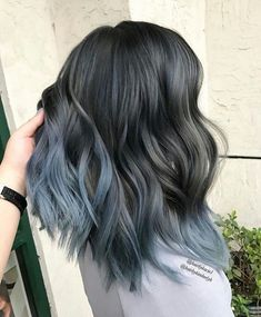 Are you looking for ombre hair color for grey silver? See our collection full of ombre hair color for grey silver and get inspired! hair color hair styles 75 Ombre Hair Color For Grey Silver Grey Ombre Hair, Ombre Hair Color, Cool Hair Color, Blue Ombre, Silver Ombre, Silver Hair, Silver Color, Blue Grey Hair, Brown Hair