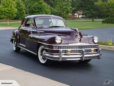 1948 Chrysler New Yorker Chrysler Voyager, Chrysler New Yorker, Quantum Mechanics, Old Cars, Plymouth, Mopar, Cars And Motorcycles, Vintage Cars, Cool Pictures