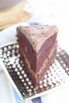 The PERFECT chocolate cake! This chocolate mayonnaise cake is unbelievably moist and rich. Fruit Tart Glaze, Chocolate Mayonnaise Cake, Perfect Chocolate Cake, Cake Recipes, Desserts, Food, Tailgate Desserts, Deserts, Easy Cake Recipes