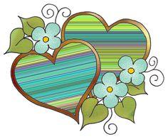 ArtbyJean - Love Hearts