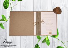 Rustic Wedding Invitations Rustic Invitations, Wedding Invitations, Rustic Wedding, Design, Wedding Invitation Cards, Wedding Invitation, Wedding Announcements, Wedding Invitation Design