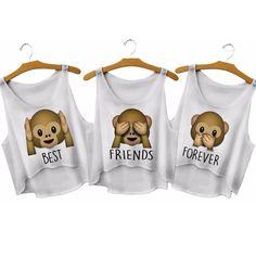 T-shirt assortis meilleures amies