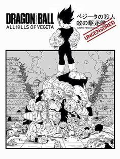 Dragon Ball Z - Vegeta's Kills