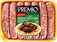 Free Premio Sausage Product-Just Submit a Recipe - http://freebiegiant.com/free-premio-sausage-product-just-submit-recipe/ Premio is giving away free coupons which are good for any Premio sausage product, and all you have to do is submit a recipe.  If you would like to get your free Premio sausage product coupon, simply click here to fill out the request form and upload your favorite sausage recipe. Although this is...