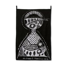 NOVICA Batik wall hanging (1.065 NOK) ❤ liked on Polyvore featuring home, home decor, wall art, black and white, wall decor, wall hangings, black and white home decor, black white home decor, abstract wall art and black home decor