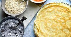 Palacsinta alaprecept recept képpel. Hozzávalók és az elkészítés részletes leírása. A palacsinta alaprecept elkészítési ideje: 30 perc Ethnic Recipes, Food, Meals, Yemek, Eten