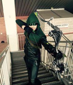 Arrow cosplayer
