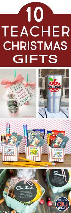 Check out these great Christmas gift ideas for teachers, co workers or anyone else on your list. These DIY ideas are thoughtful yet simple!