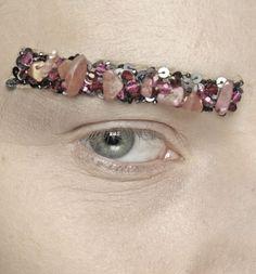 Makeup. Chanel eyebrows