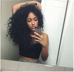Curly hair INSPIRAÇÃO cabelos enrolado cacheado https://www.youtube.com/user/AlanaSantosBlogger/videos
