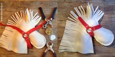 Make an Amerigo hobby horse in 15 minutes - Make an Amerigo hobby horse in 15 minutes Diy For Kids, Gifts For Kids, Hobby Horse, December, Diy Projects, Diy Crafts, Surprise Ideas, Donkey, Cowboys