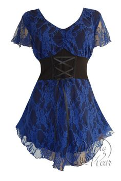 online shopping for Dare Wear Victorian Gothic Boho Women's Plus Size Sweetheart Corset Top from top store. See new offer for Dare Wear Victorian Gothic Boho Women's Plus Size Sweetheart Corset Top Plus Size Corset Tops, Corset Style Tops, Plus Size Tops, Blue Corset, Corset Shirt, Victorian Corset, Victorian Dresses, Bohemian Tops, Gothic Fashion