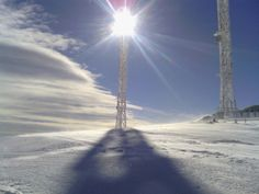 Photo from Pigadia: top of Vermio , taken at 10 Feb 2013 by billis Snow Report, Winter Snow, Weather Conditions, Skiing, Greece, Around The Worlds, Top, Ski, Greece Country