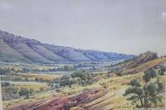 Image result for albert namatjira artwork Grand Canyon, Vineyard, Artwork, Nature, Travel, Outdoor, Image, Outdoors, Work Of Art