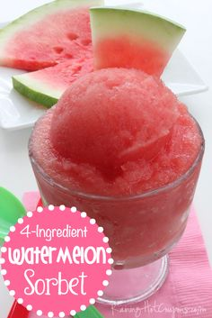 Sponsored Link *Get more RECIPES from Raining Hot Coupons here* *Pin it* by clicking the PIN button on the image above! Repin It Here This is the best way to enjoy Watermelon..in my opinion. This Watermelon sorbet is a little different than ice cream; it's almost like a slushee mixed with ice cream. The kiddos …