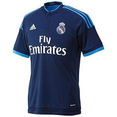 Adidas Real Madrid Maillot de football Homme: Certainement le produit phare de l'été, découvrez ce modèle adidas Performance Real 3 Jersey,… Camisa Real Madrid, Equipacion Real Madrid, Adidas Football, Football Jerseys, Football Players, Soccer Shirts, Sports Shirts, Equipe Real Madrid, Real Madrid Football Club