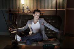 Andrew Scott, recent BAFTA winner for his interpretation of Moriarty in Sherlock!