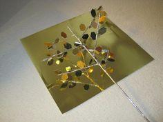 """DIY """"Metal"""" Tree #ArtAndCraftPoster"""