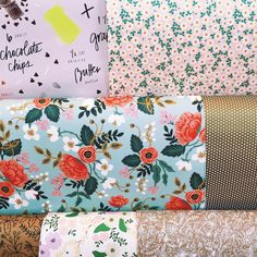 I want all the floral wrapping paper