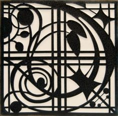 Motawi Tileworks Montrose, Black is a role-playing wallpaper, designed for installation. Mosaic Tile Art, Art Tiles, Art And Craft Design, Silhouette Art, Decorative Tile, Arts And Crafts Movement, Art Reproductions, Amazing Art, Framed Art