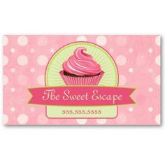Eat a cupcake business card business cards business and cake business cheaphphosting Images