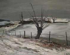 Neige en bourgogne, Laporte (1926-2000)., Bouillet Vincent, Proantic