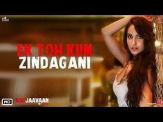 Ek Toh Kum Zindagani Lyrics in Hindi and English from upcomming bollywood film Marjaavaan. This song is sung by Neha Kakkar and Yash Narvekar. Audio Songs, Mp3 Song, Song Lyrics, Film Song, Bollywood Music Videos, Bollywood Movie Songs, Hit Songs, News Songs, New Hindi Songs