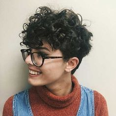 27 Easy Tips For Short Curly Pixie Ideas & Designs, short curly pixie haircut natural, short curly pixie videos, short curly pixie cut, short curly. Curly Pixie Cuts, Haircuts For Curly Hair, Best Short Haircuts, Cool Hairstyles, Elegant Hairstyles, Woman Hairstyles, Evening Hairstyles, Wedge Hairstyles, Hairstyle Short