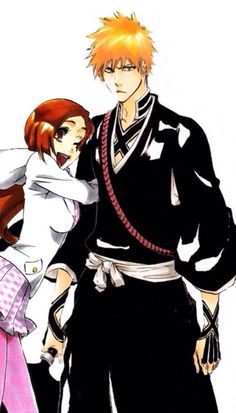 Image via We Heart It #anime #bleach #manga #animecouple #ichigokurosaki #ichihime #orihimeinoue