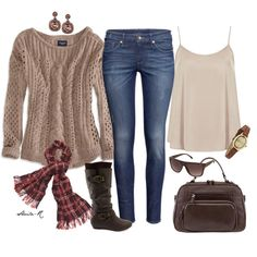 """""""Cozy Winter Outfit-Over 40 Fashion"""" by sheila-r on Polyvore"""