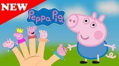Peppa Pig Свинка Пеппа & Friends Finger Family Nursery Rhymes