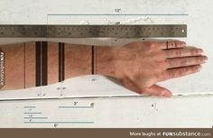 Design a functional tattoo for Ben Uyeda that turns his arm into a ruler Arm Tattoos For Women Upper, Band Tattoos For Men, Tattoo Band, Lower Arm Tattoos, Boy Tattoos, Body Art Tattoos, Hand Tattoos, Tattoos For Guys, Sleeve Tattoos