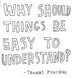 thomas pynchon • kerri smith