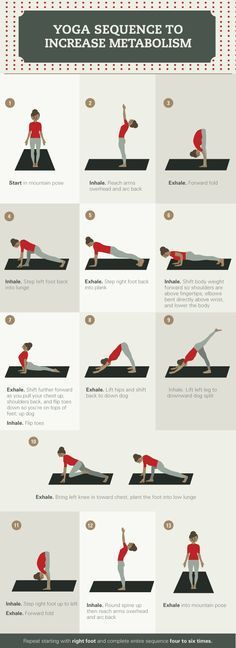 Yoga Poses for Metabolism