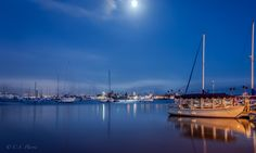 Full Moon in Newport by Candice Staver Harris - Photo 79377319 - 500px