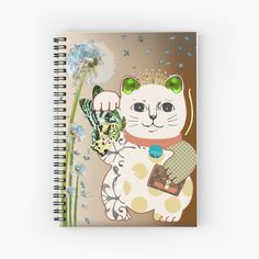 Notebook Design, My Notebook, Maneki Neko, Fashion Room, Top Artists, Vintage Designs, My Arts, Tapestry, Art Prints