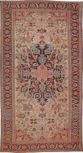 Antique Heriz Serapi Persian Rugs 44085 Nazmiyal