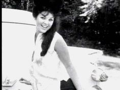 Priscilla Presley (Elvis not only took this photo but kept it in his billfold).