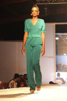 BRAZZA FASHION NIGHT 2015 - Défilé d'honneur ELIE KUAME