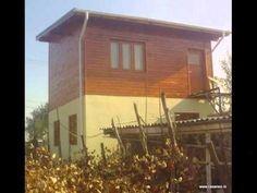 Constructii case structura lemn   cum am construit casa lemn Dumitru