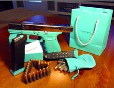 Tiffany & Co. Gun and ammo.  Better not let the wife see this one!