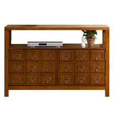 Man I love this. Library card catalog styling with great modern use.